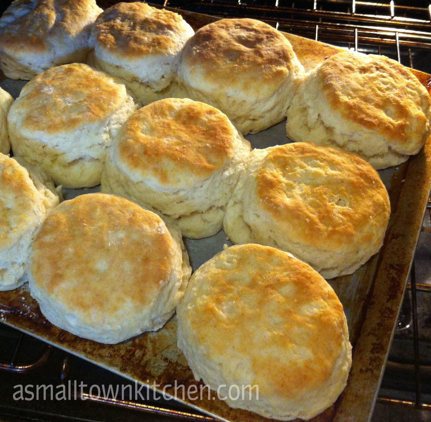 homemade biscuits | A Small Town Kitchen