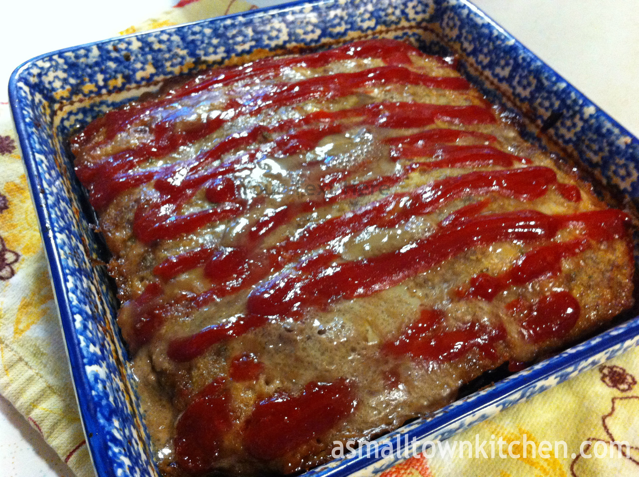 Brown Sugar Meatloaf | A Small Town Kitchen