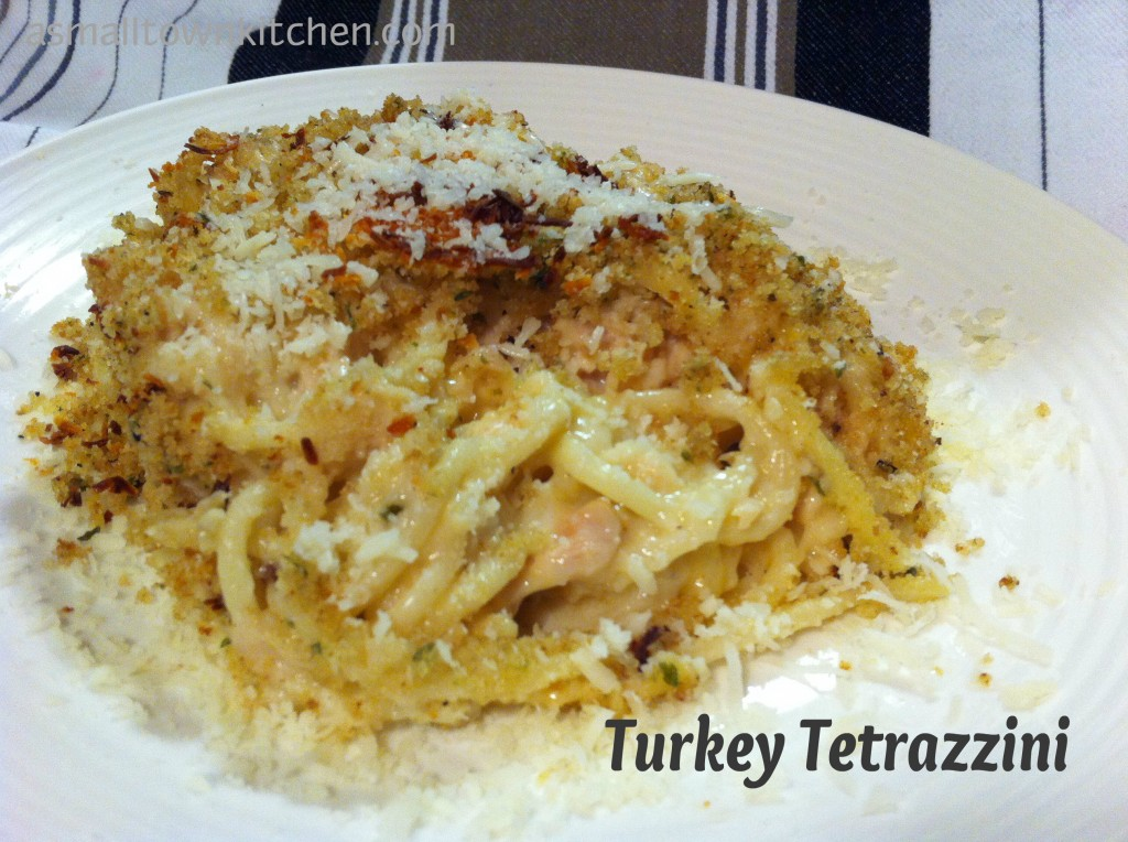 Turkey Tetrazzini | A Small Town Kitchen