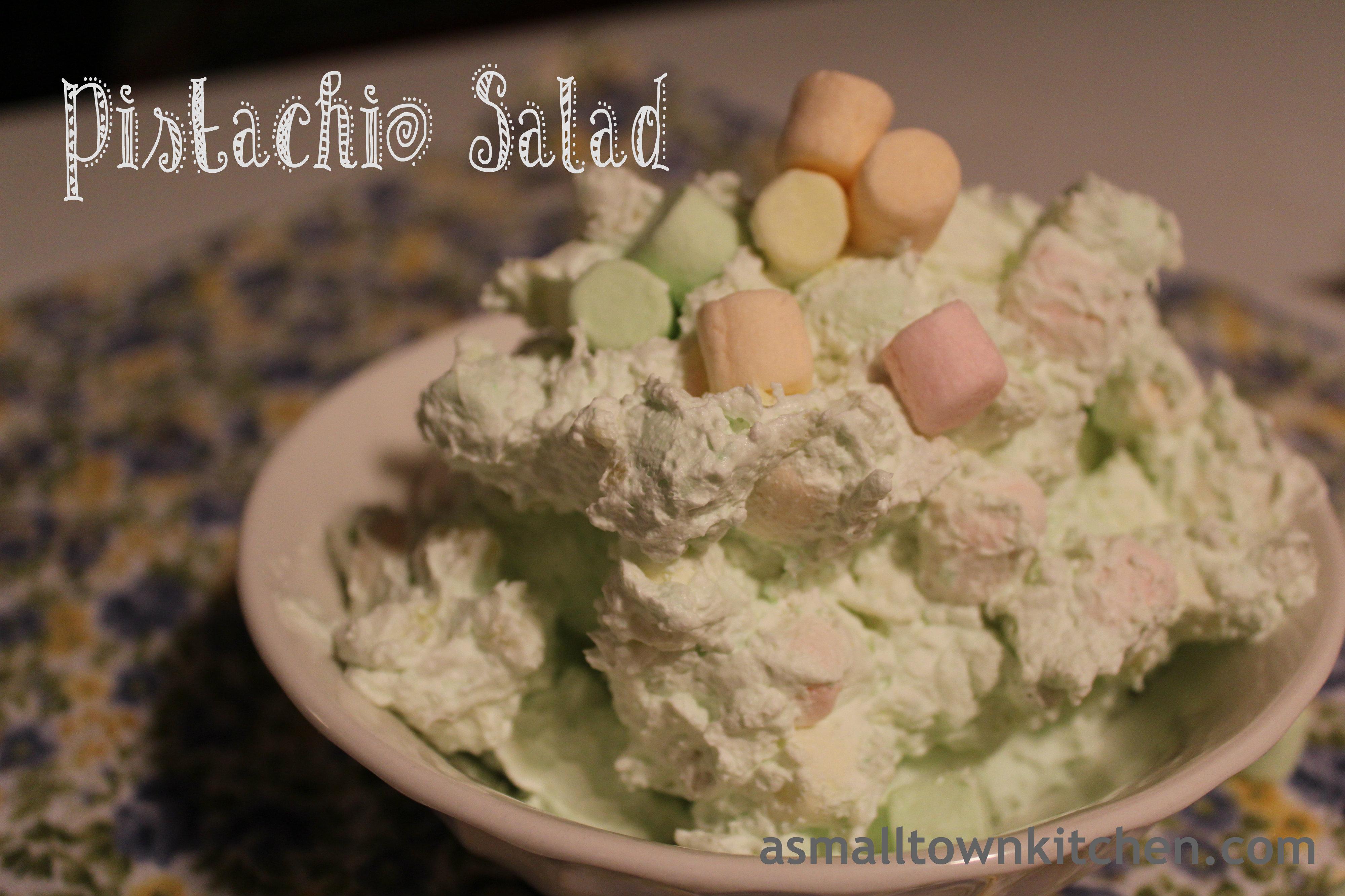 pistachio salad   A Small Town Kitchen