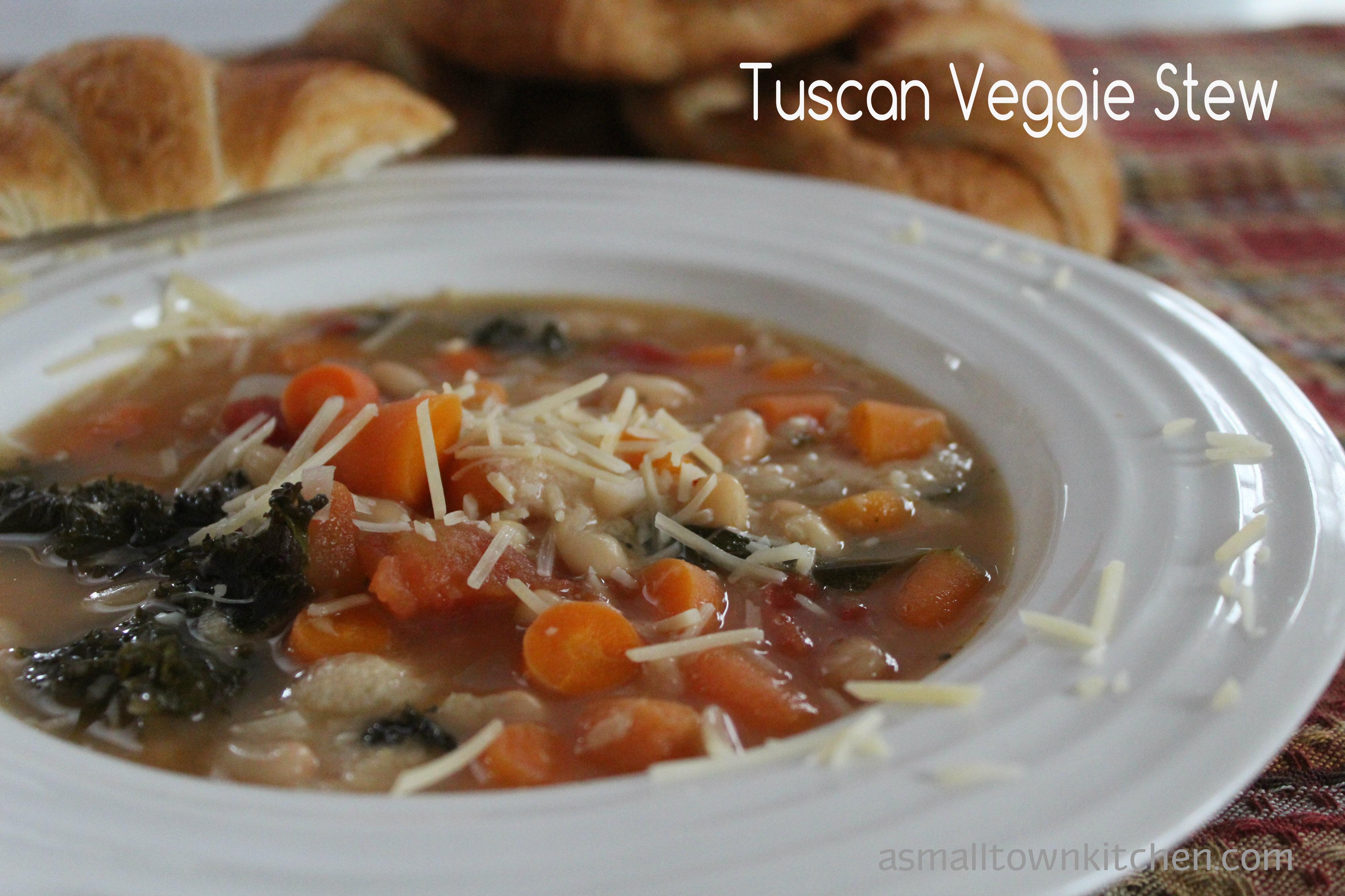 Tuscan Veggie Stew forecast