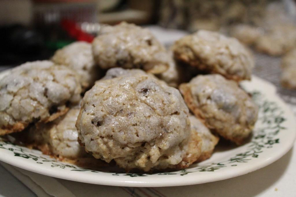 Sugar Glazed Oatmeal Raisin Cookies